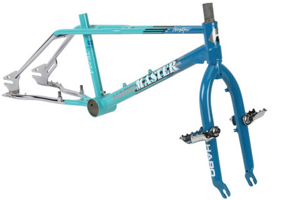 Haro Master 1988 Vintage Frame Kit in Mint at Albe's BMX Bike Shop Online