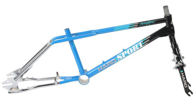Haro Sport 1988 Vintage Frame Kit in Blue at Albe's BMX Bike Shop Online