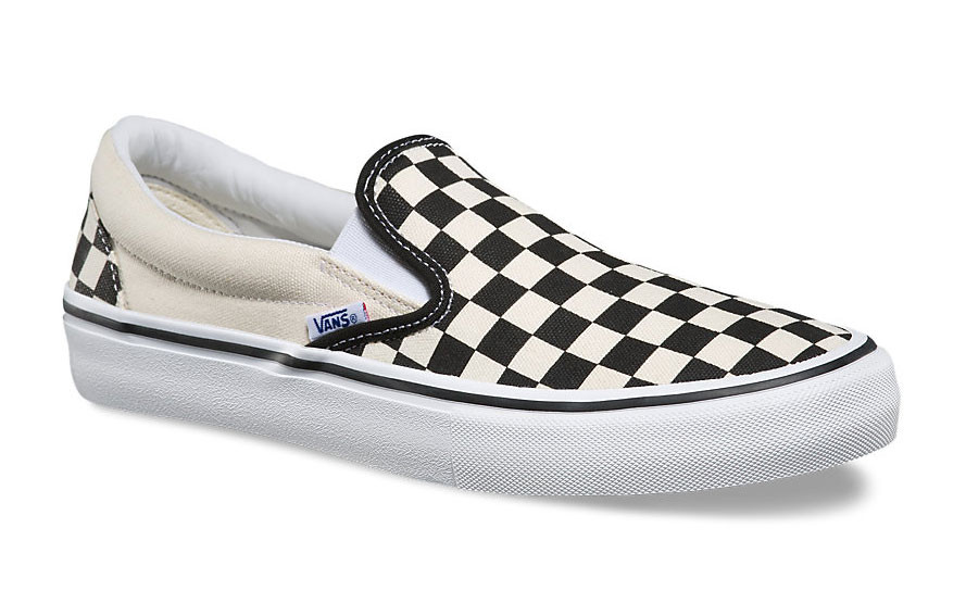 Vans Slip One Pro black and white Checkerboard shoes at Albe s BMX Bike Shop  Online f8ec0b334