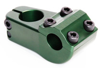 S&M Turtleneck Stem in Army Green at Albe's BMX Bike Shop Online