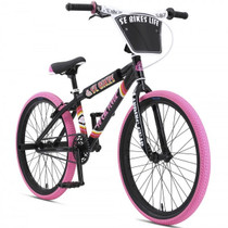 "SE Bikes SoCal Flyer 24"" 2019 Bike in Black at Albe's BMX Bike Shop Online"