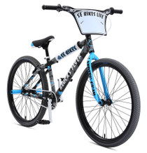 SE Bikes Blocks Flyer 2019 BMX Bike In Black and Blue Camo at Albe's BMX Bike Shop Online