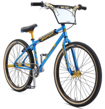 SE Bikes 2019 OM Flyer 26 inch BMX Bike in Blue at Albe's BMX Bike Shop Online