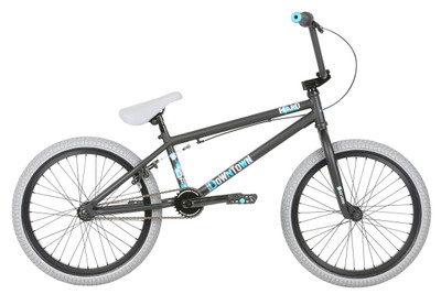 Haro Downtown 2019 BMX Bike in Matte Black at Albe's BMX Bike Shop Online