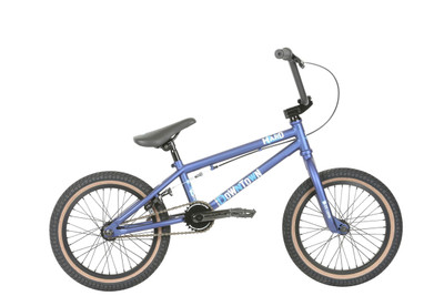 "Haro 2019 Downtown 16"" bike in Blue at Albe's BMX Bike Shop Online"