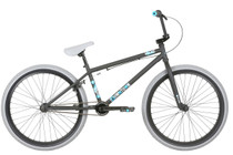 Haro 2019 Downtown 24 inch BMX bike in matte black at Albe's BMX Bike Shop Online