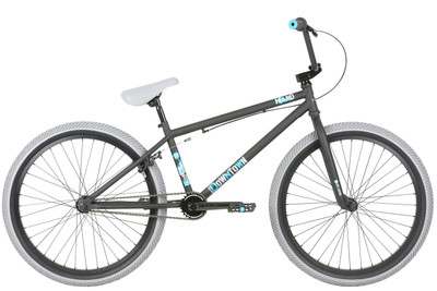 Haro 2019 Downtown 26 inch BMX bike in Matte Black at Albe's BMX Bike Shop Online