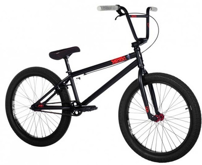"Subrosa 2019 Malum 22"" bike in Black at Albe's BMX Bike Shop Online"
