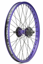 Cinema ZX V2 Rear Wheel In Purple At albe's BMX Bike Shop Online
