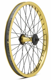 Cinema ZX V2 Front Wheel in Gold at Albe's BMX Bike Shop Online