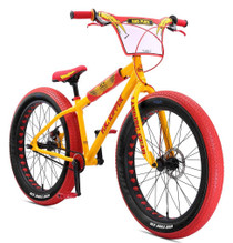 SE Bikes 2019 Fat Ripper BMX Bike in Yellow at Albe's BMX Bike Shop