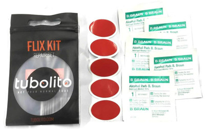 Tubolito Ultra Light Weight repair and patch kit at Albe's BMX Bike Shop Online