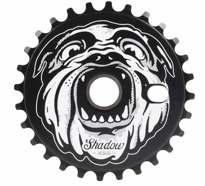 Shadow Jesco Sprocket in Black at Albe's BMX Bike Shop Online