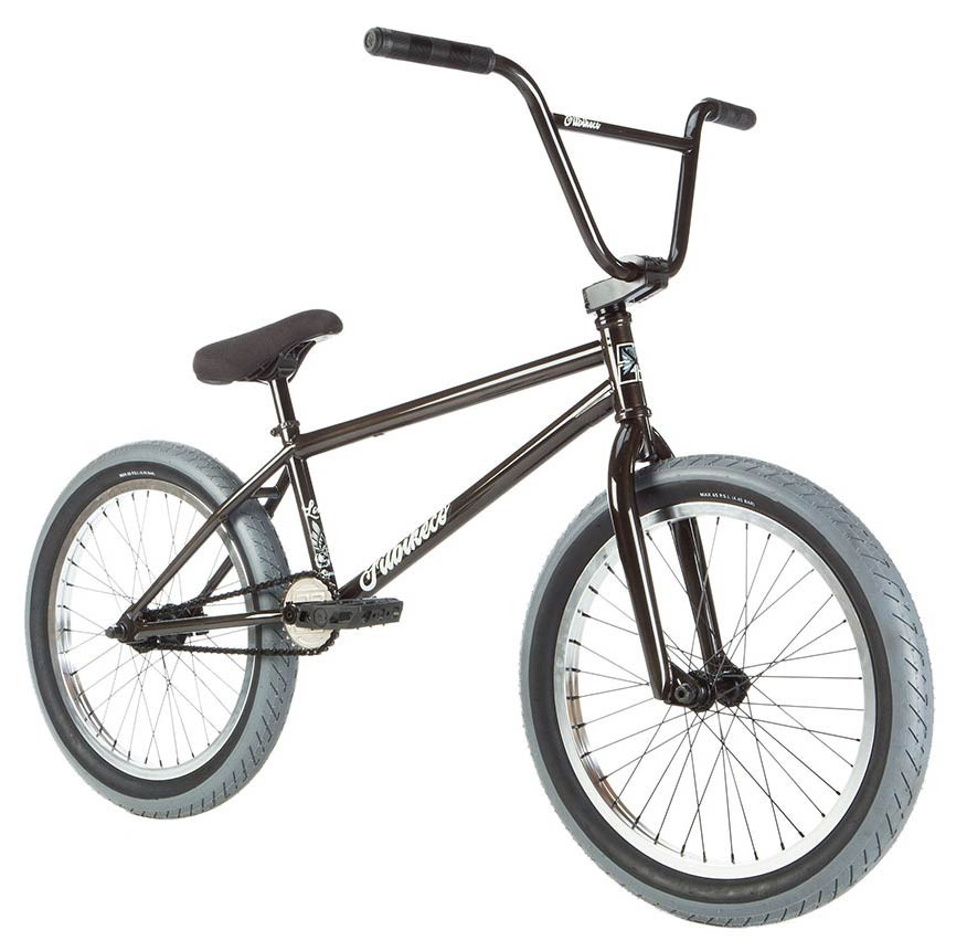 "2019 FIT BIKE CO LONG 20/"" BICYCLE BMX TRANS BLACK SUNDAY KINK HARO CULT"