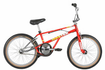 Haro Lineage Master 2019 Bashguard Bike in Red at Albe's BMX