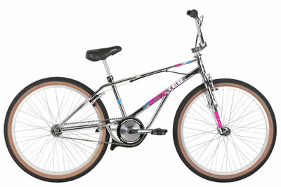 Haro Lineage Master 2019 Bashguard Bike in Chrome at Albe's BMX