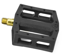Cinema CK Pedals in black and gold at Albe's BMX