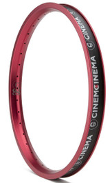 Cinema 888 Rim in Red at Albe's BMX