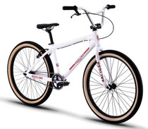 Redline SQB-26 Squareback Bike in White at Albe's BMX