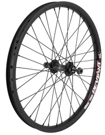 Alienation Tinman Front Wheel in Black at Albe's BMX Bike Shop