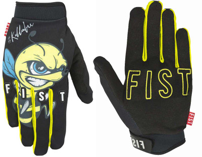 Fist Gloves Killabee Kyle Baldock signature at Albe's BMX Bike Shop