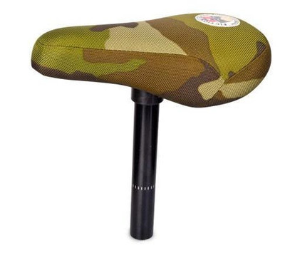Fiction Moto Seat Combo in Jungle Camo at Albe's BMX