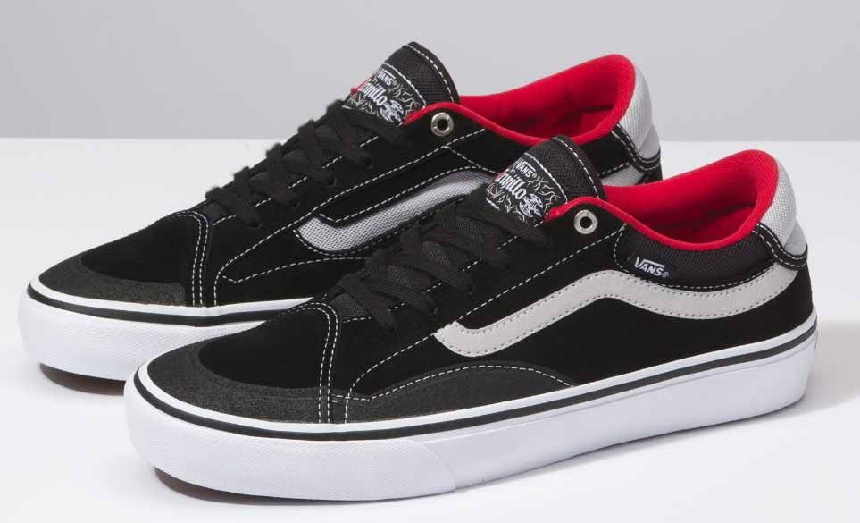 ac9ec186fe Vans TNT Advanced Prototype Shoes in Black and White at Albe s BMX