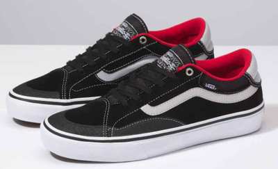 Vans TNT Advanced Prototype Shoes in Black and White at Albe's BMX