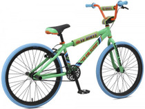 "SE Bikes SoCal Flyer 24"" 2019 Bike in Green at Albe's BMX Bike Shop Online"