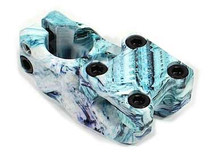 Madera Mast Stem Swirlstran Colorway at Albe's BMX