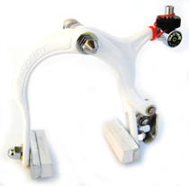 Dia-Compe 883 Nippon Caliper Brake in White at Albe's BMX
