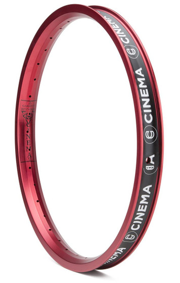 Cinema Reynolds Rim in red at Albe's BMX Bike Shop Online