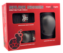 Triple 8 Saver Series Pad Set at Albe's BMX Online