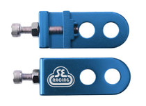 SE Bikes Chain Tensioner in blue at Albe's BMX
