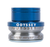Odyssey Integrated Pro Headset in Blue at Albe's BMX