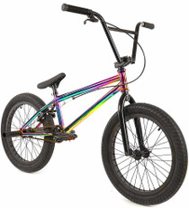 Elite BMX Destro Bike in Neo Chrome Oil Slick at Albe's BMX Online
