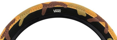Cult Vans Tires Camo Edition in Desert Camo at Albe's BMX Online