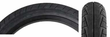 "Primo 555C (Connor Keating) 20"" Tire in black at Albe's BMX Bikes Online"