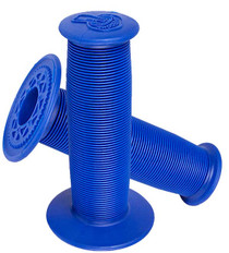 ODI Mushroom Grips in Blue at Albe's BMX Online
