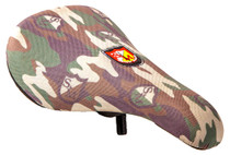S&M Slim Pivotal Seat in Shield Camo print at Albe's BMX Online