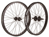 Fit 20 inch Wheelset in black at Albe's BMX Online
