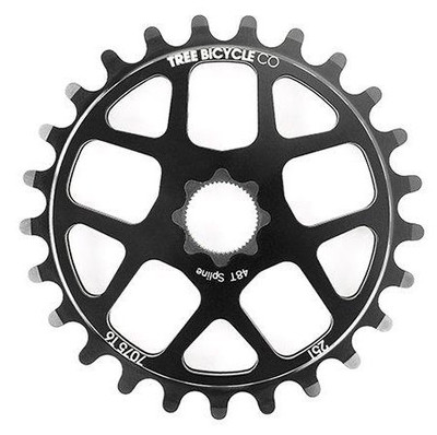 Tree Bike Co. Spline Drive Lite Sprocket in black at Albe's BMX Bike Shop Online