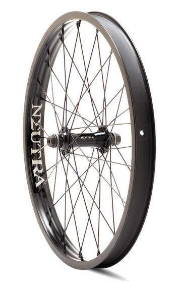 Verde Neutra 20 inch Front Wheel in black at Albe's BMX Online