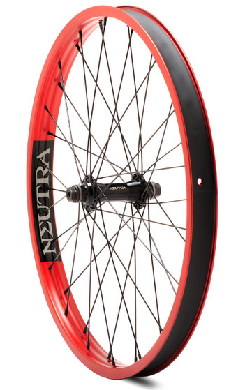 Verde Neutra 22 inch Front Wheel in Red at Albe's BMX Online