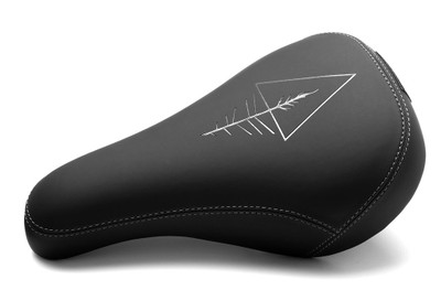 Verde Roots Stealth Pivotal Seat in black at Albe's BMX Online