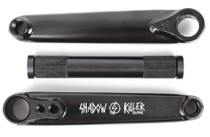 Shadow Conspiracy Killer Cranks in black at Albe's BMX Online