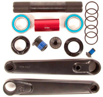 Fit Blunt Cranks in black at Albe's BMX Online
