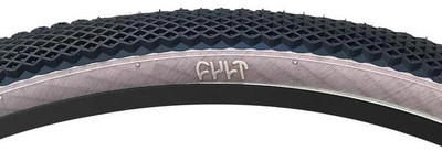 "Cult Vans 29"" Tire in black and tan at Albe's BMX Online"