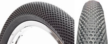 "Cult Vans 29"" Tire in black at Albe's BMX Online"