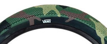 "Cult Vans 12"" Tire in camo at Albe's BMX Online"